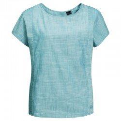 Блуза EMERALD LAKE TOP W 1402781-4010 Jack Wolfskin, цвет  Бирюзовый