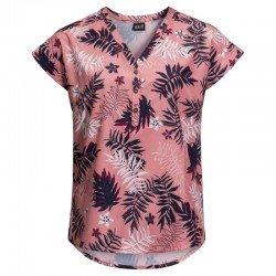 Блуза VICTORIA LEAF SHIRT W 1402911-7805 Jack Wolfskin, цвет  Розовый