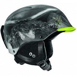 Горнолыжный шлем Contest Visor (Contest Visor-Lime Mountain) , Цвет - черный, желтый