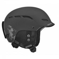 Горнолыжный шлем Dusk (Dusk-Black Geometric Camo) , Цвет - черный
