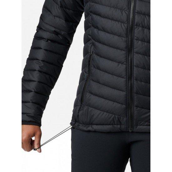 Фото Куртка для женщин Columbia Powder Lite™ Hooded Jacket, цвет - черный Sportland.ua