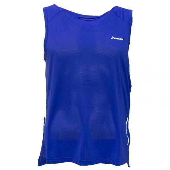 Фото Майка спортивная мужская для бега T-shirt sport, Цвет - синий Смотреть