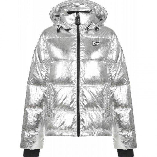 Фото Куртка для женщин Women's jacket, Цвет - серебряный Смотреть