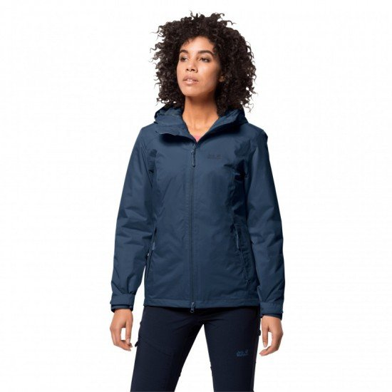 Фото Куртка утепленная FROSTY MORNING JKT W (1113711-1024) , Цвет - индиго Смотреть