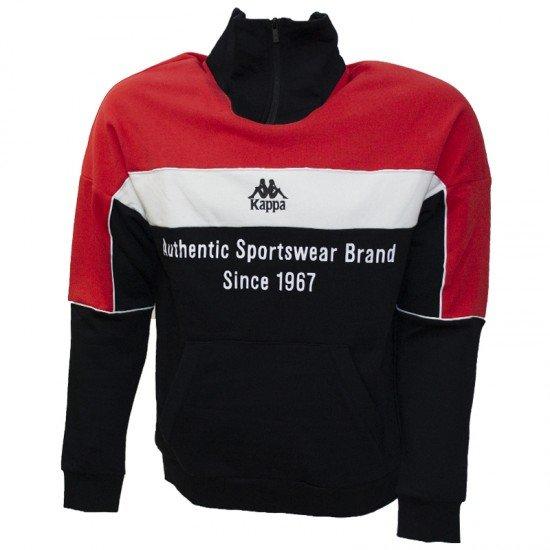 Фото Джемпер для мужчин Men's jumper, Цвет - черный, красный Смотреть