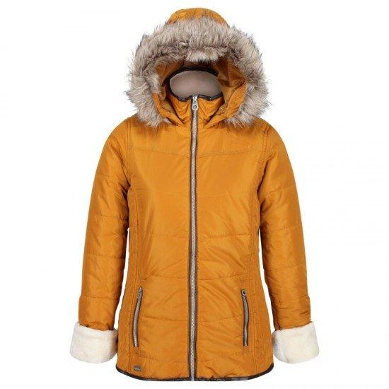 Фото Куртка утепленная Whitley (RWN142-05S) , Цвет - желтый Смотреть