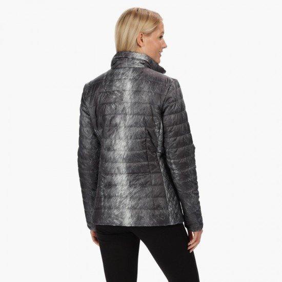 Фото Куртка стеганная Wmns Metallia II (RWN149-92E) , Цвет - серый Смотреть