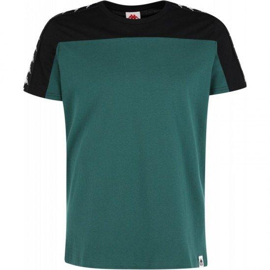 Футболка для мужчин-Men's T-shirt, цвет - черный, зеленый