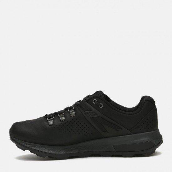 Полуботинки для мужчин-Men's low shoes, цвет - черный