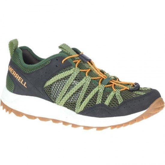 Кроссовки для мужчин-WILDWOOD AEROSPORT Men's low shoes, цвет - оливковый