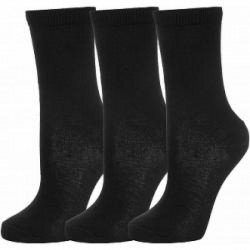 Носки NEW COTTON QUARTER SOCKS 3 PACK (NCQS3P-BLK) , Цвет - черный