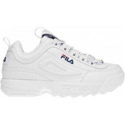 Кроссовки для мужчин-DISRUPTOR II PREMIUM Men's low shoes, цвет - белый